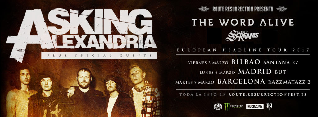 Route Resurrection Fest 2016 - Asking Alexandria - Event