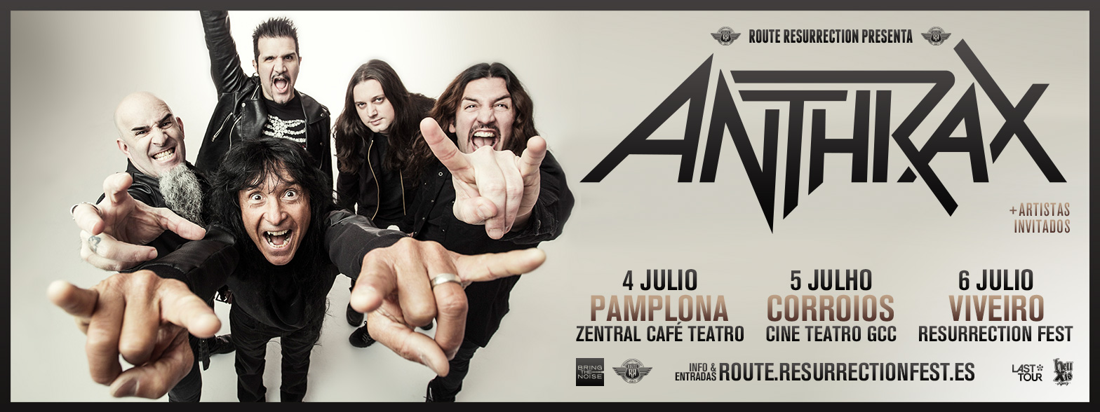 Route Resurrection Fest 2017 - Anthrax - Event