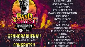 Finalistas del RF Band Contest 2019 by Fest Galicia