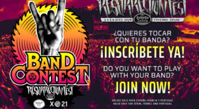 Do you want to play at Resurrection Fest Estrella Galicia 2019? Thanks to Fest Galicia, our Band Contest is back!