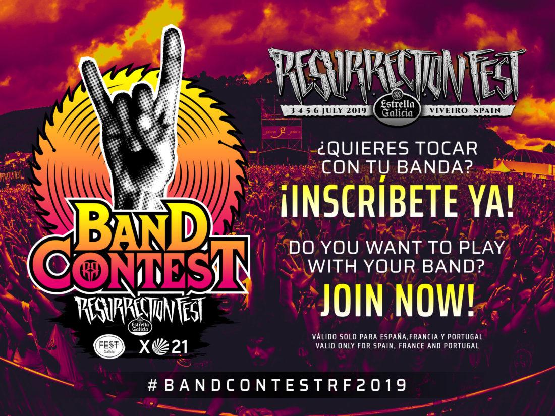 ¿Quieres tocar en el Resurrection Fest Estrella Galicia 2019? ¡Gracias a Fest Galicia vuelve el Band Contest!