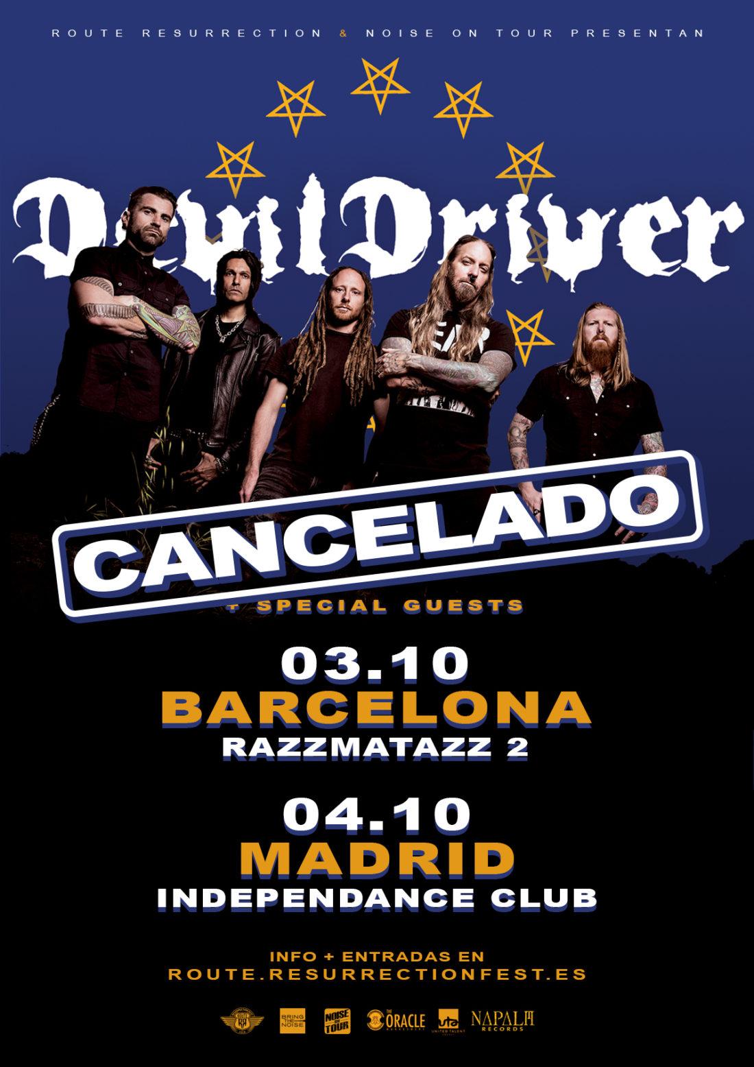 DevilDriver (gira cancelada)
