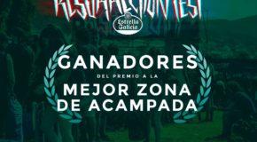Resurrection Fest Estrella Galicia, Premio al festival con la mejor acampada de España