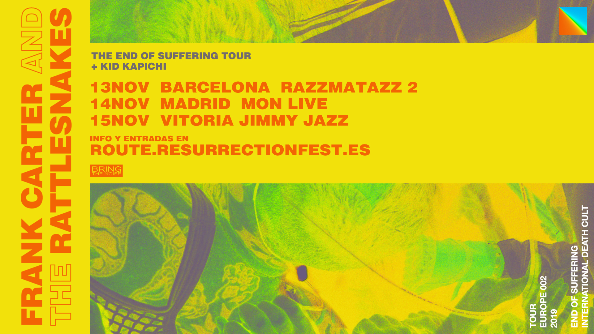 Route Resurrection Fest 2019 - FRANK CARTER AND THE RATTLESNAKES - Event