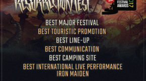 Resurrection Fest nominated in 6 categories at Iberian Festival Awards