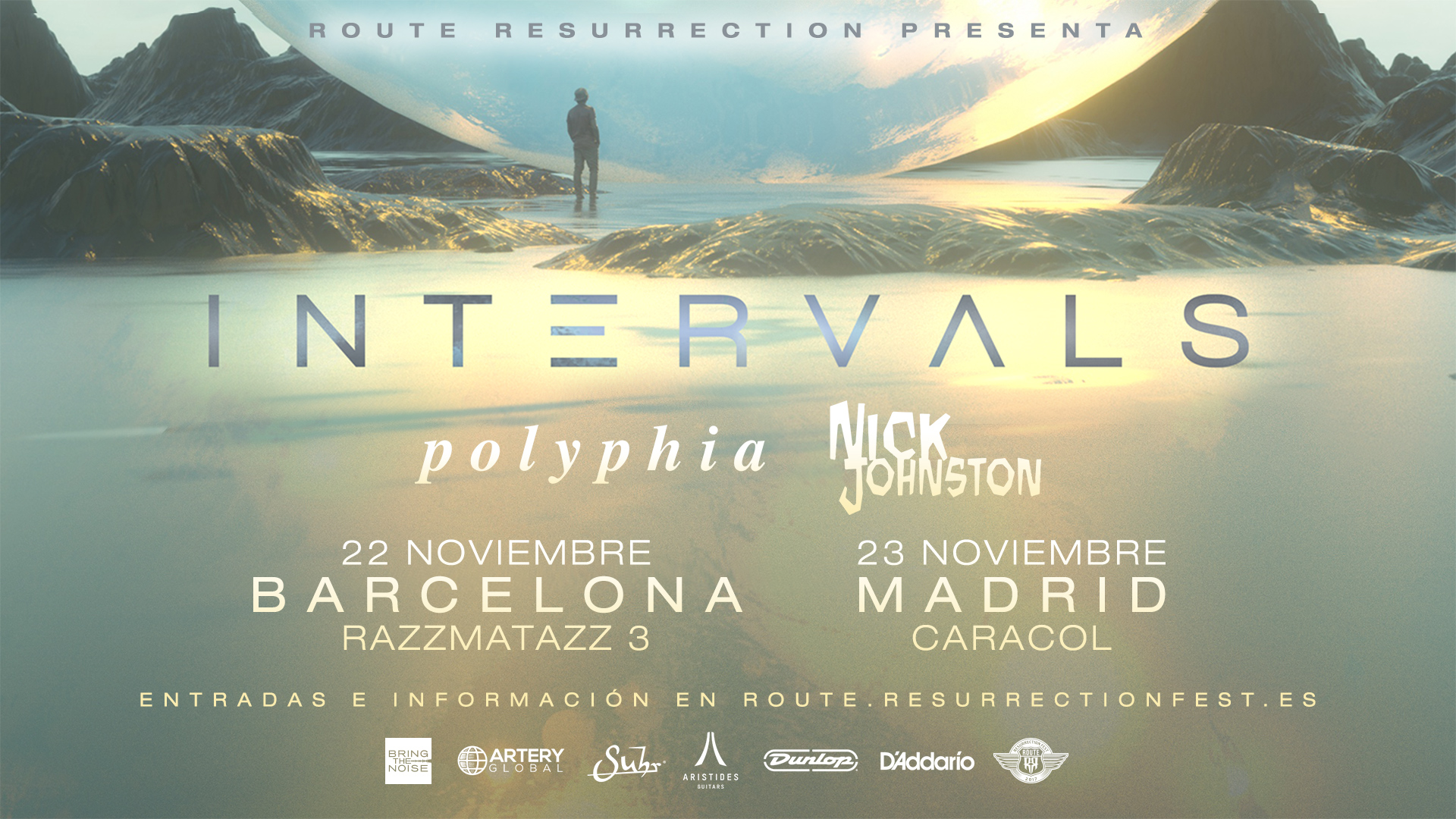 Route Resurrection Fest 2017 - Intervals - Event