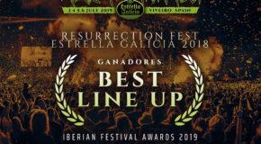 PREMIO AL MEJOR CARTEL POR EL RESURRECTION FEST EG 2018 EN LOS IBERIAN FESTIVAL AWARDS, ¡GRACIAS!