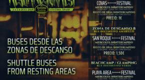 Horarios y precios del servicio de buses