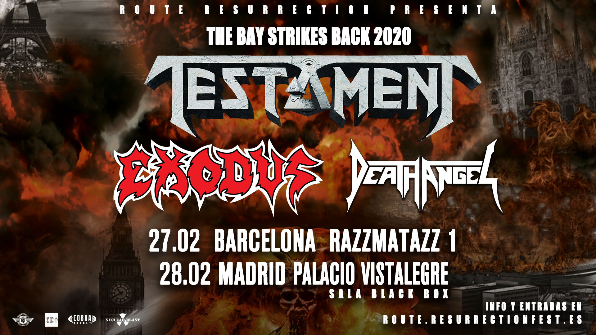 Route Resurrection Fest 2020 - Testament - Event