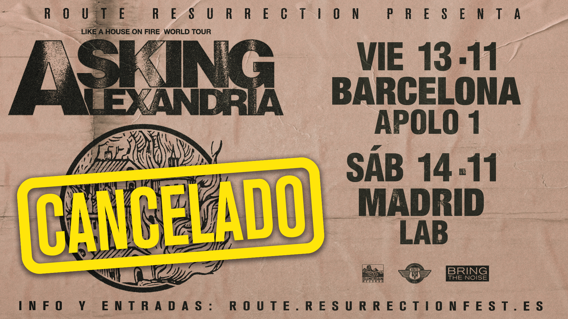 Route Resurrection Fest 2020 - Asking Alexandria - Event