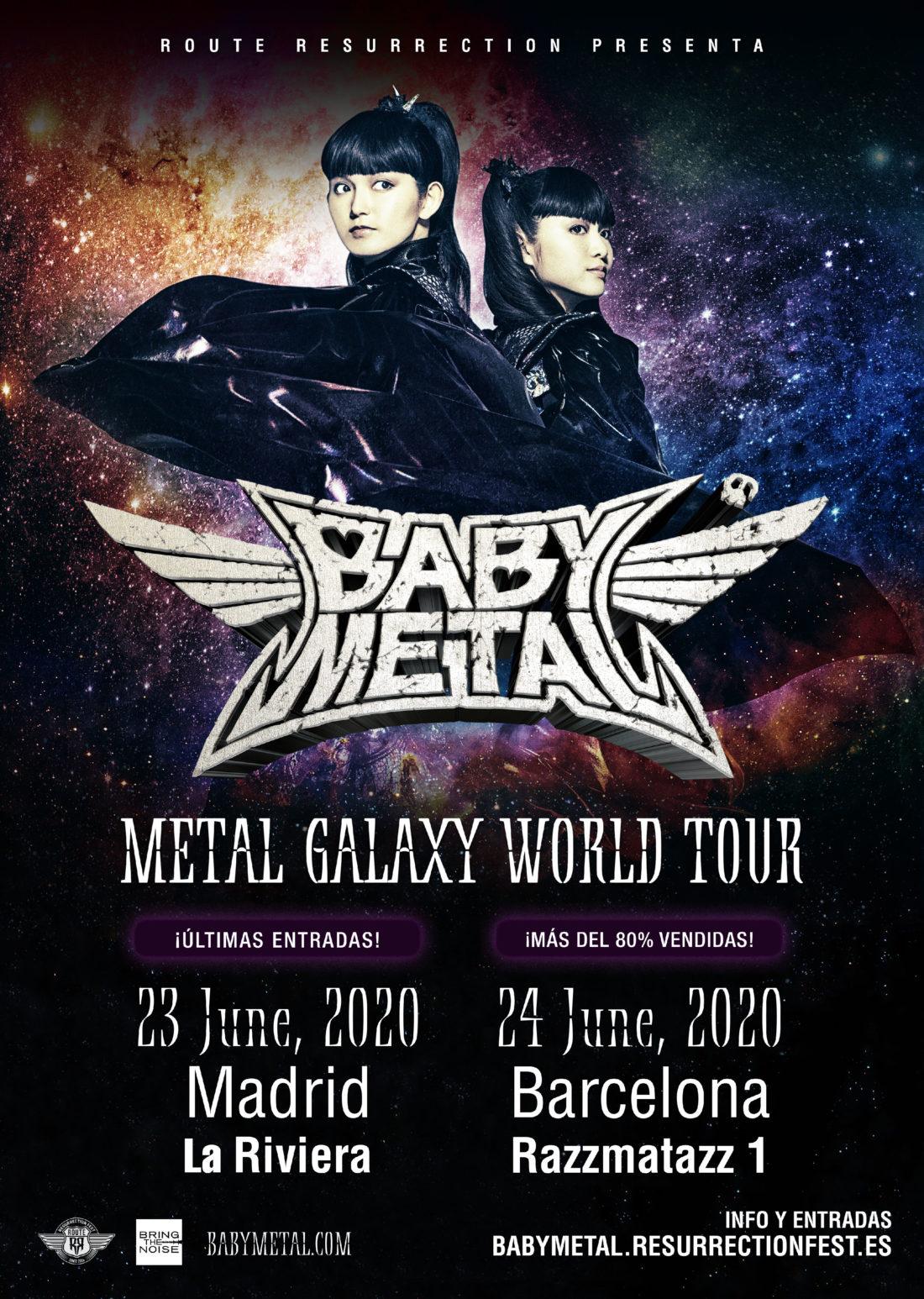 Babymetal / Metal Galaxy World Tour