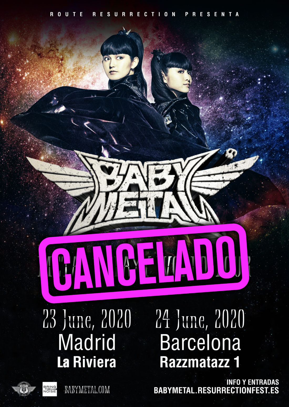 Babymetal / Metal Galaxy World Tour