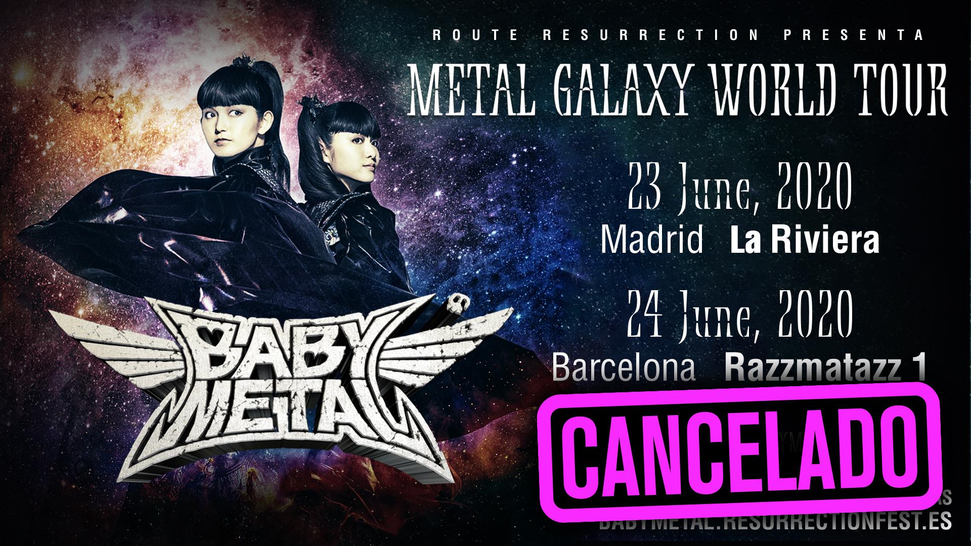 Route Resurrection Fest 2020 - Babymetal- Event