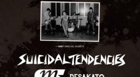 Nueva fecha para el concierto Route Resurrection de Bad Religion – 40 Years en Santiago de Compostela