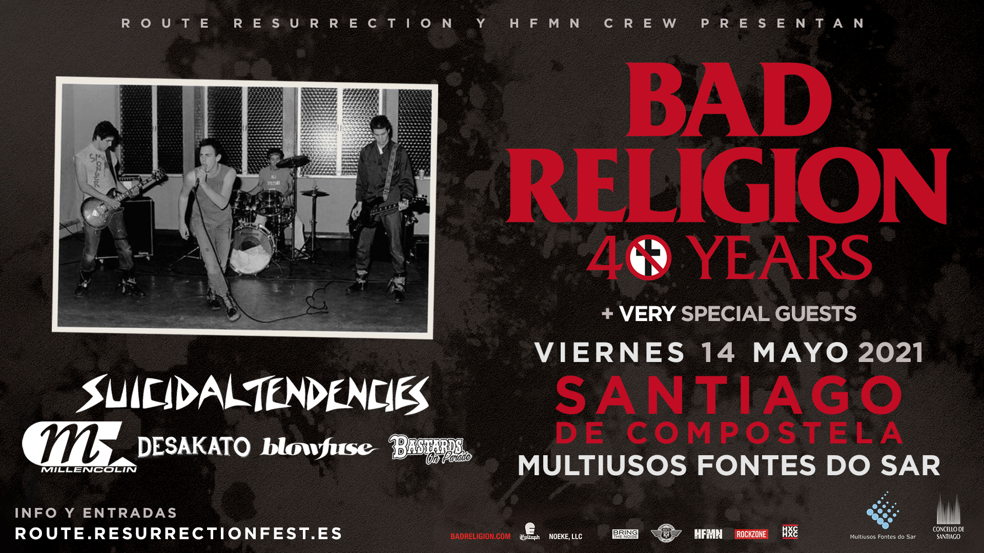 Route Resurrection Fest 2021 - Bad Religion - Event