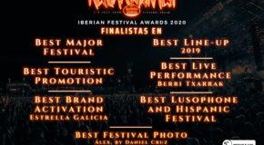 Finalistas en los Iberian Festival Awards 2020