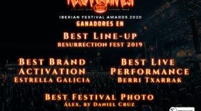 GANADORES EN LOS IBERIAN FESTIVAL AWARDS 2020