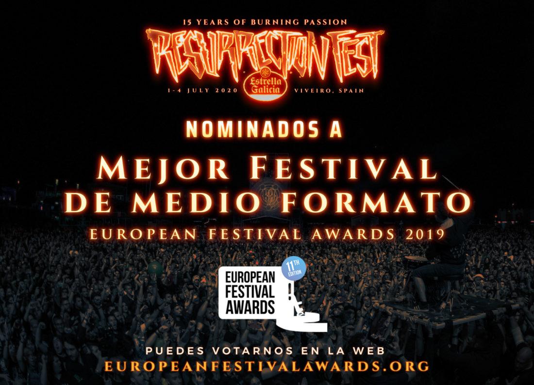 Resurrection Fest Estrella Galicia, nominado a mejor festival de formato medio en los European Festival Awards 2019