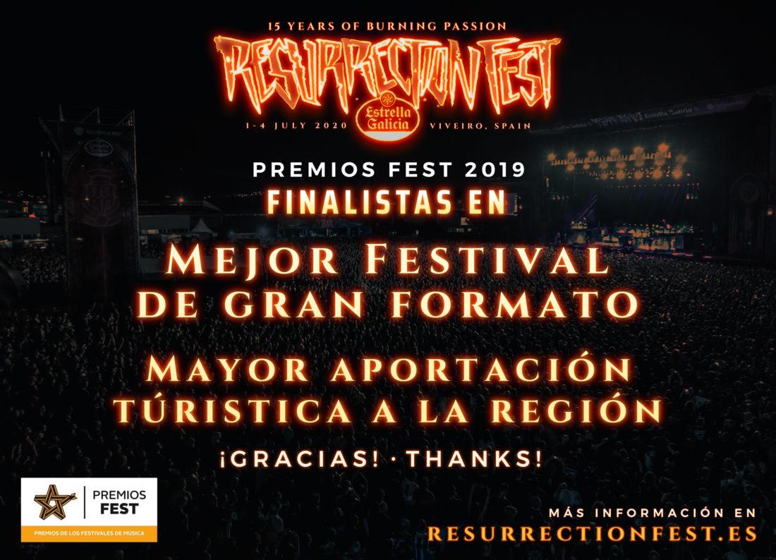 Finalistas en los Premios Fest en 2 categorías, ¡gracias por votar!