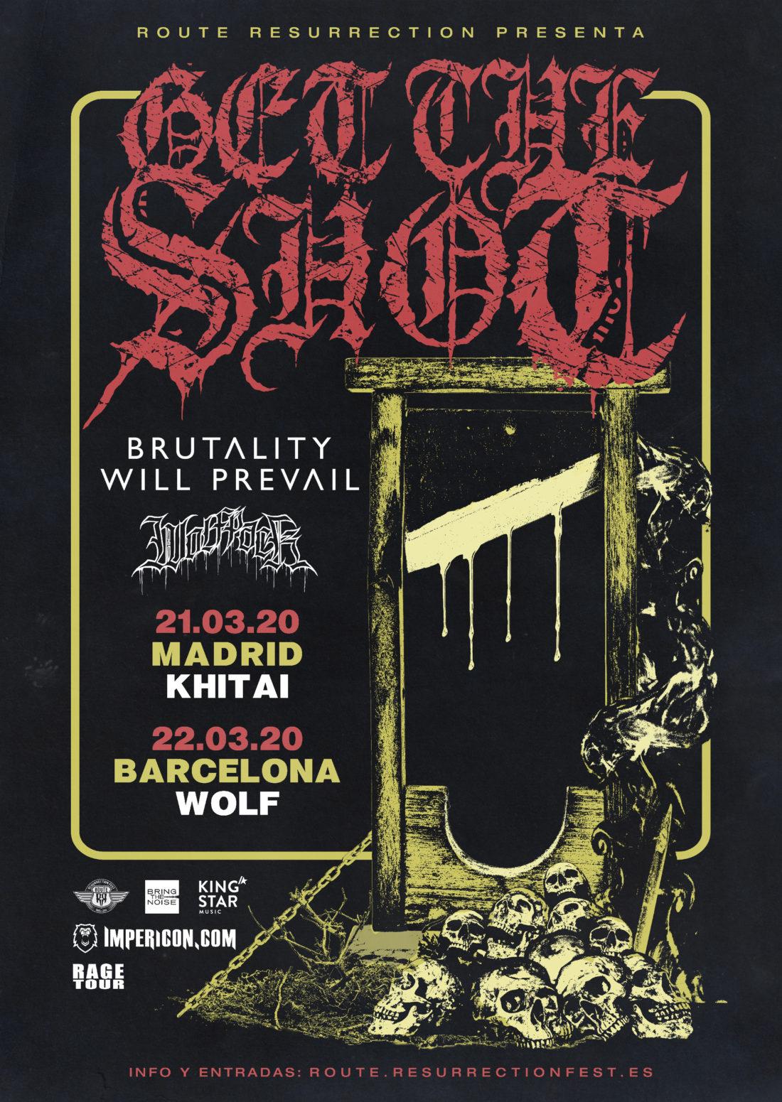 Nueva gira Route Resurrection: Get The Shot vuelven a España como cabezas de cartel