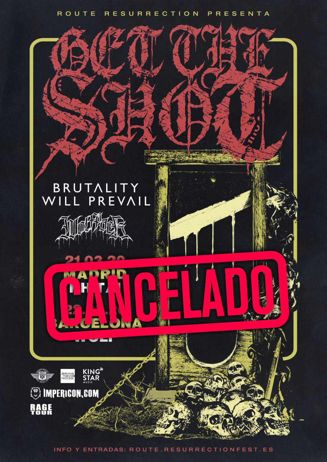 Get The Shot (gira cancelada)