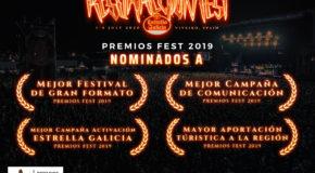 Resurrection Fest Estrella Galicia 2019: nominado en los Premios Fest 2019