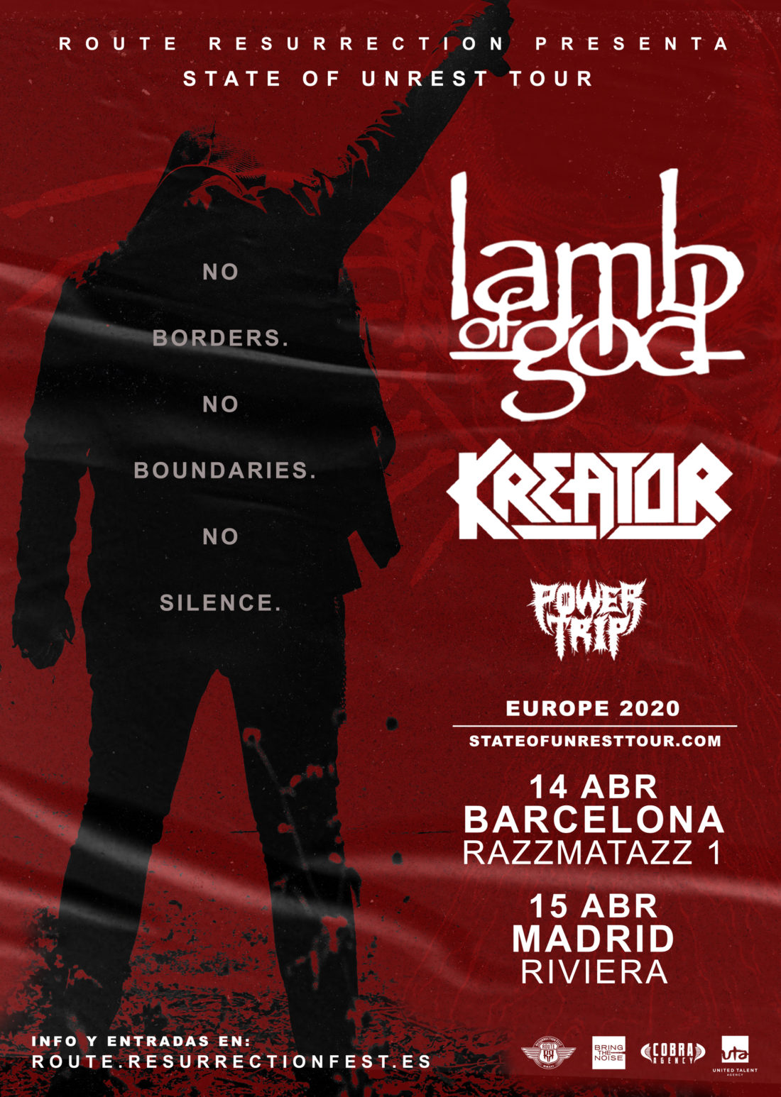 Lamb of God + Kreator