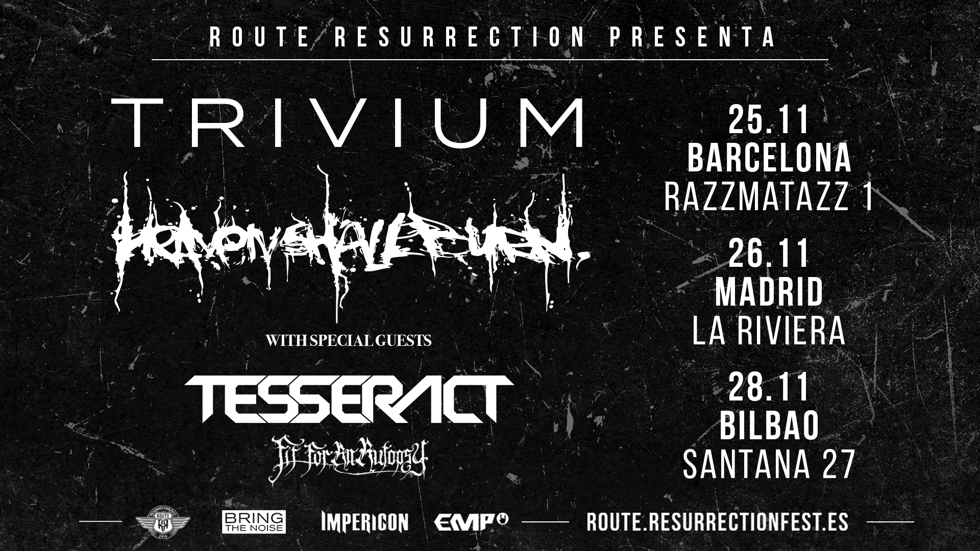 Route Resurrection Fest 2021 - Trivium - Heaven Shall Burn- Event