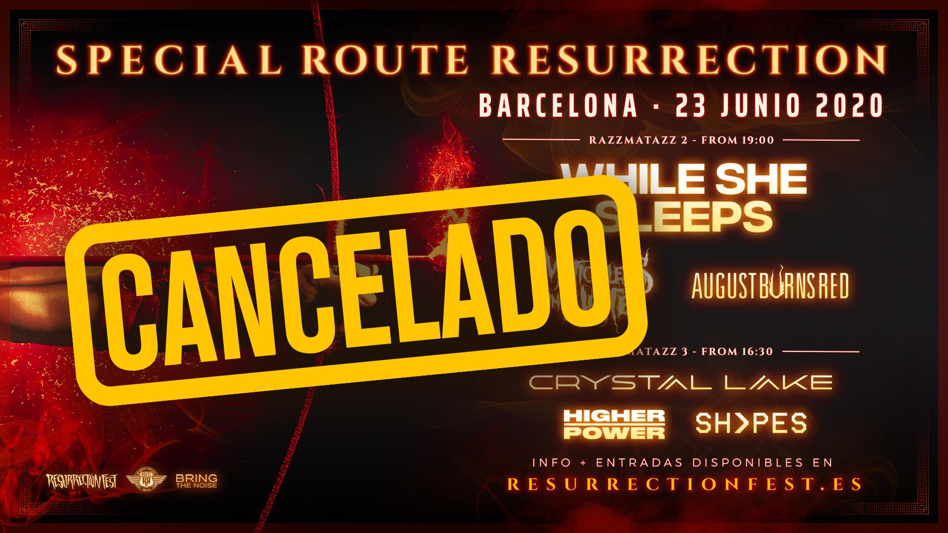 Route Resurrection Fest 2020 - Special Route Resurrection - Event