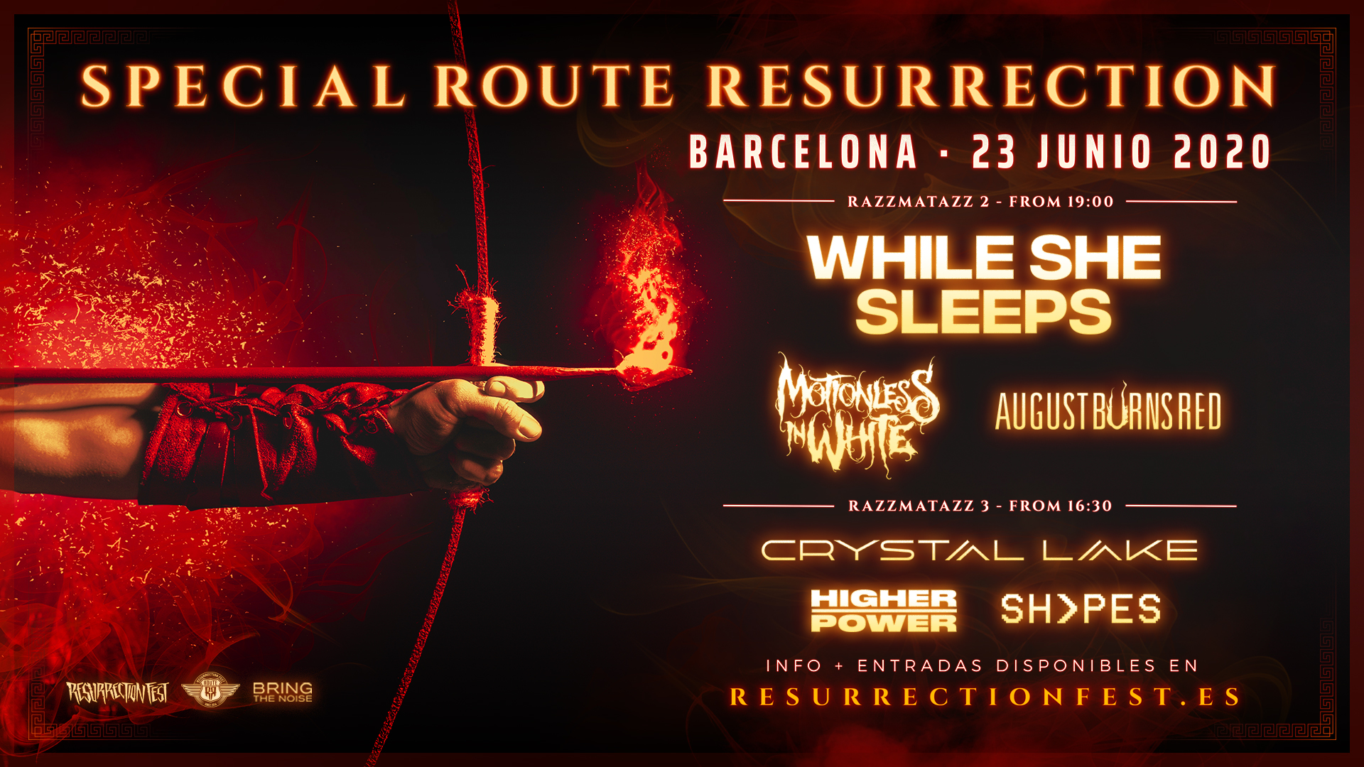 Route Resurrection Fest 2020 - Special Route Resurrection - Event