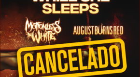 Cancelada la gira Special Route Resurrection de While She Sleeps