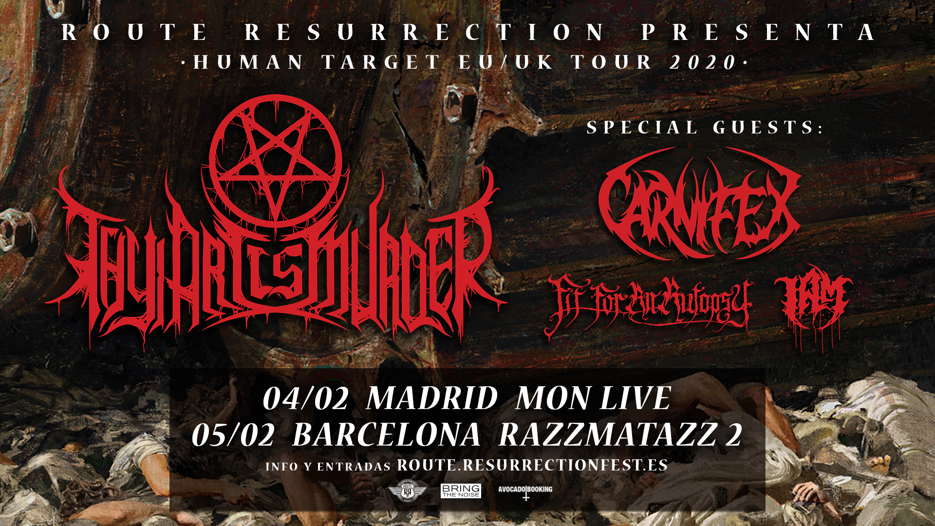 Route Resurrection Fest 2020 - Thy Art Is Murder - Event