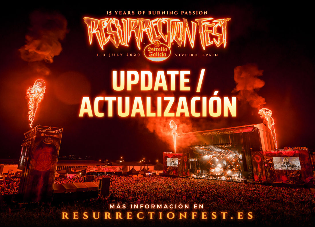 Resurrection Fest Estrella Galicia 2020: update about tickets and lineup