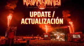 Resurrection Fest Estrella Galicia 2020: actualización sobre entradas y cartel
