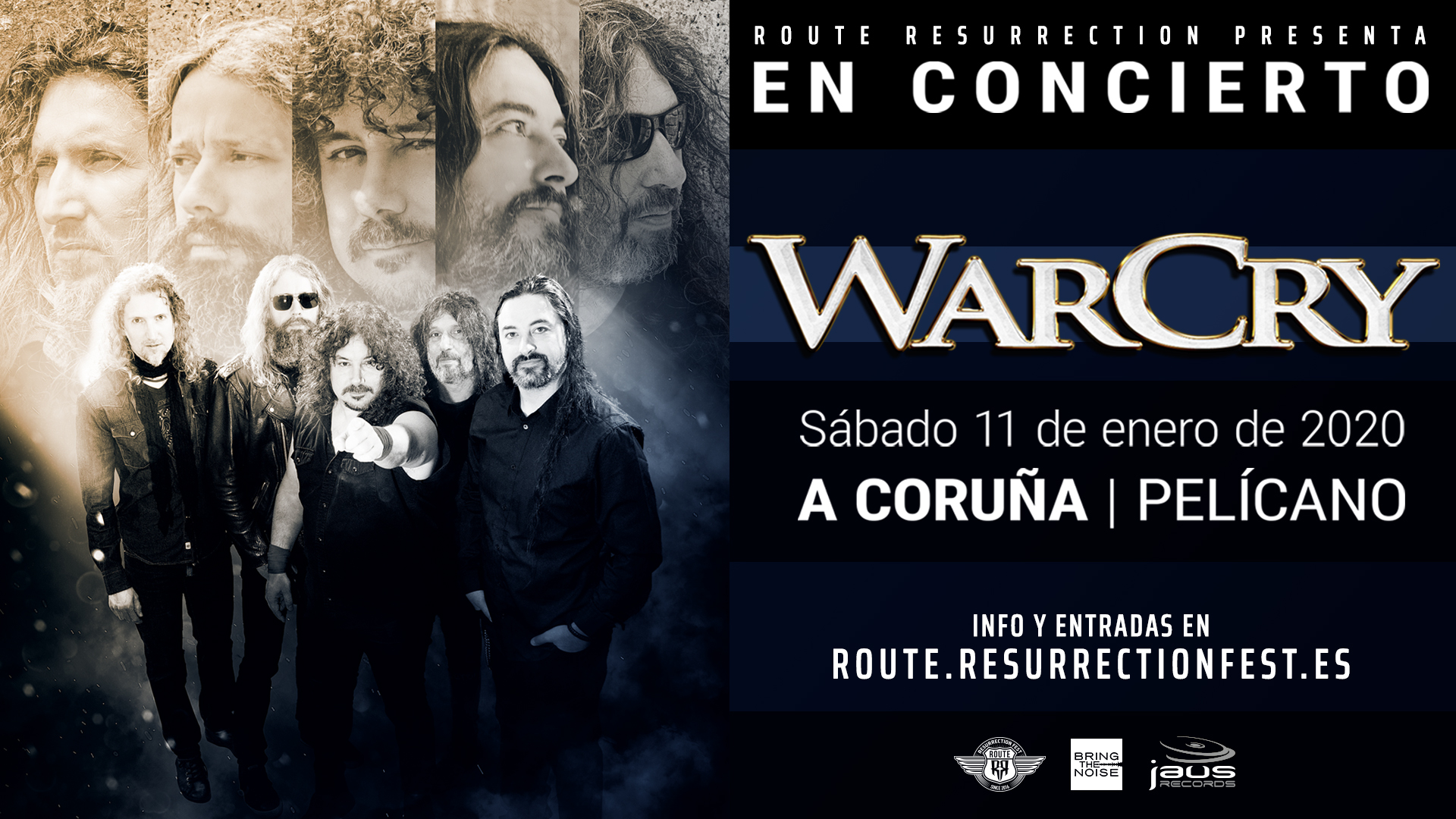 Route Resurrection Fest 2020 - WarCry - Event