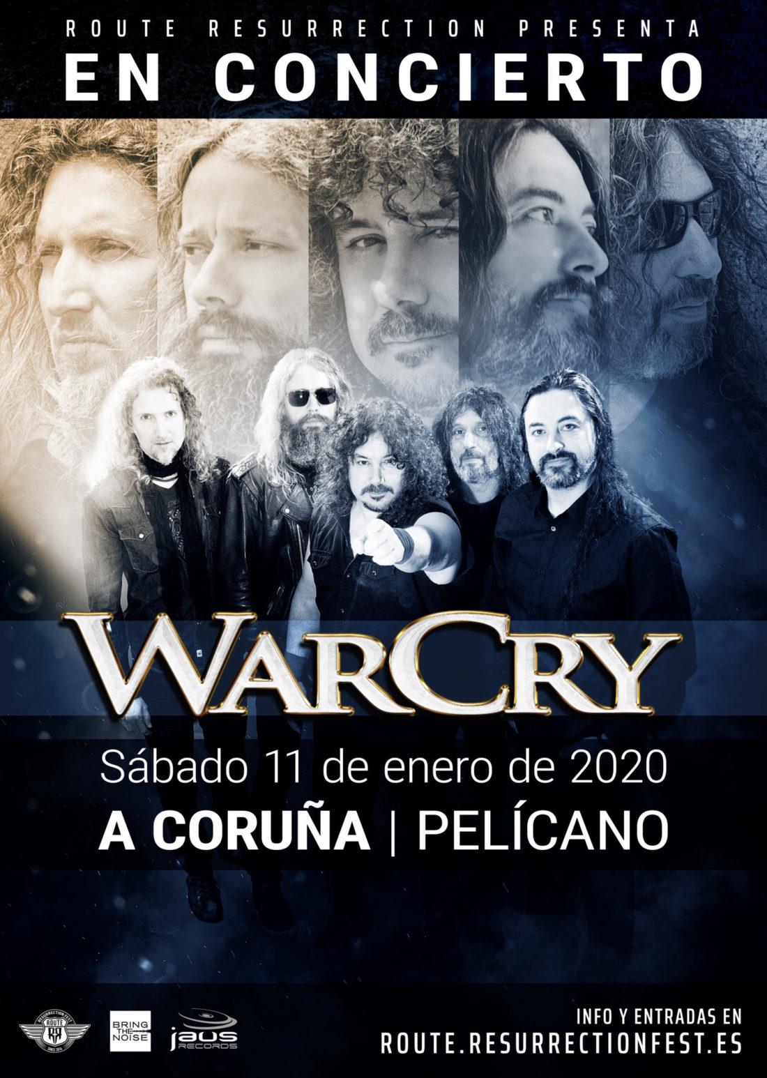 WarCry cerrará su gira «Donde el silencio se rompió» en A Coruña