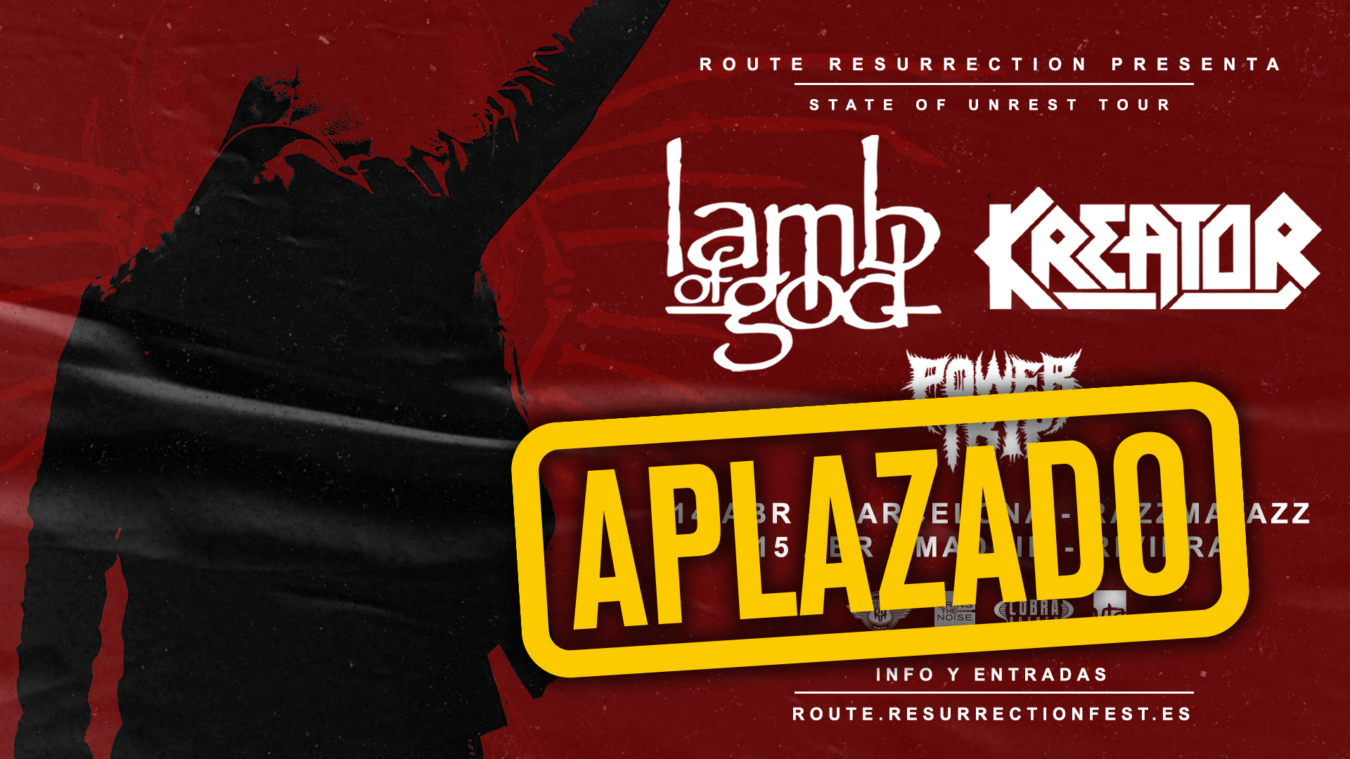 Route Resurrection Fest 2020 - Lamb of God - Kreator - Event