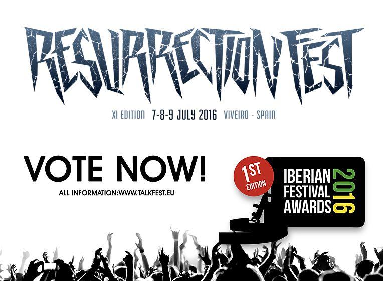 Resurrection Fest, nominado a mejor gran festival y mejor cartel en los Iberian Festival Awards