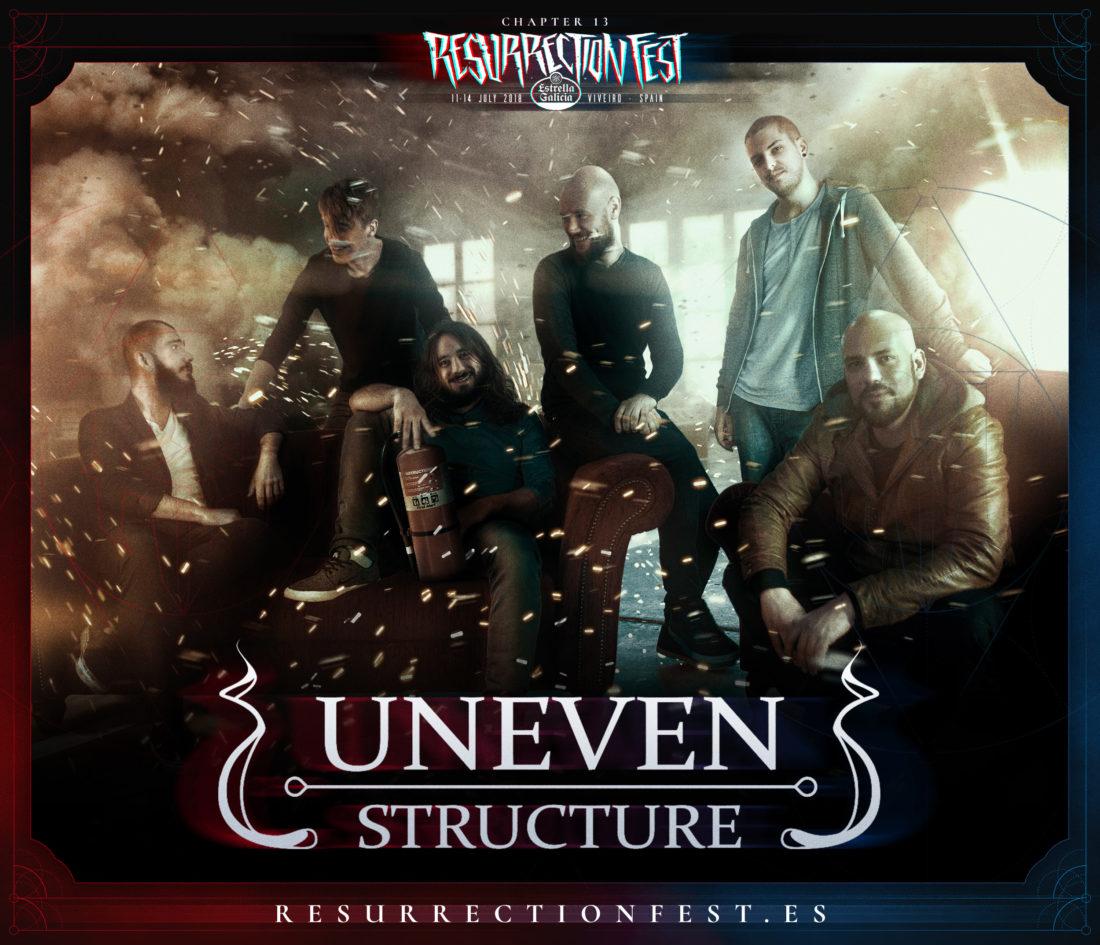 Resurrection Fest 2018: se caen Oni, se unen Uneven Structure
