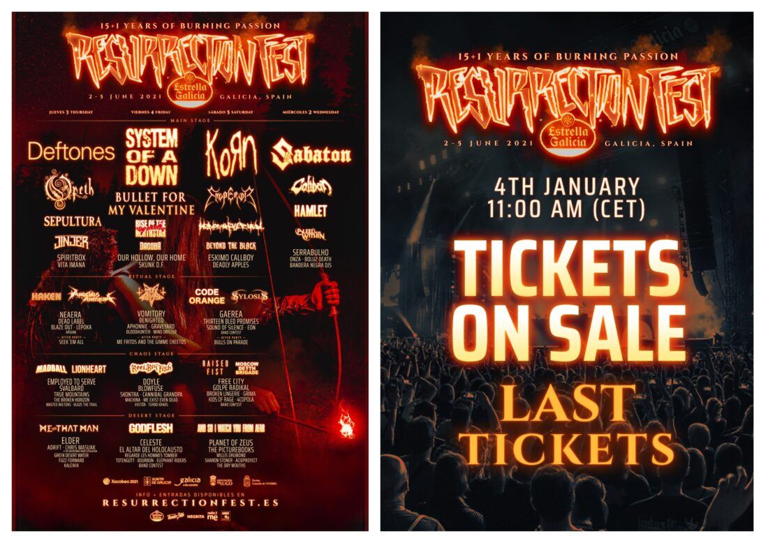 Tomorrow tickets on sale, all the information here