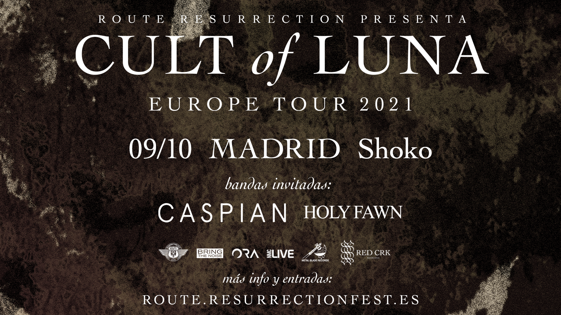 Route Resurrection Fest 2021 - Cult of Luna - Event