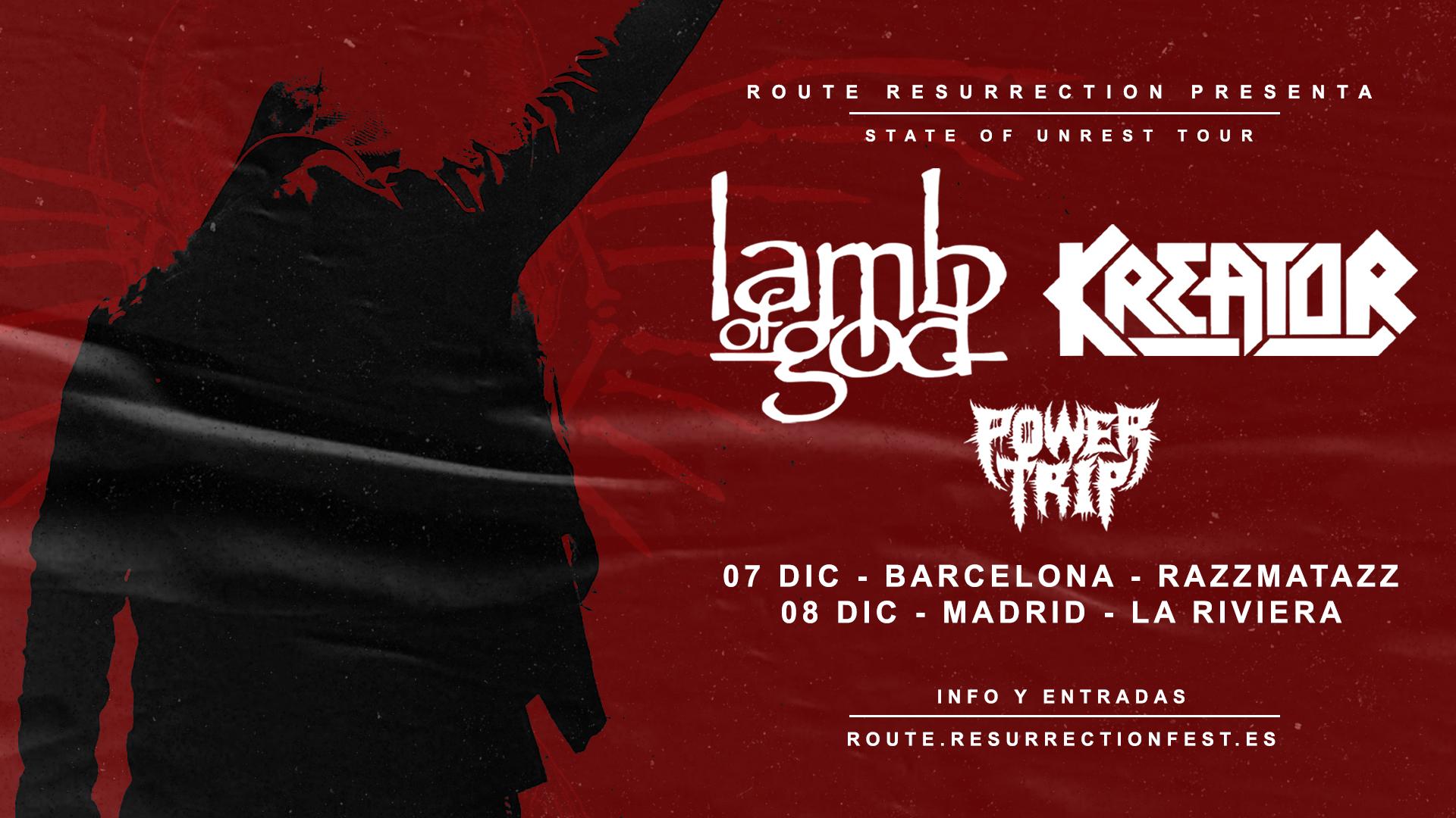 Route Resurrection Fest 2021 - Lamb of God - Kreator - Event