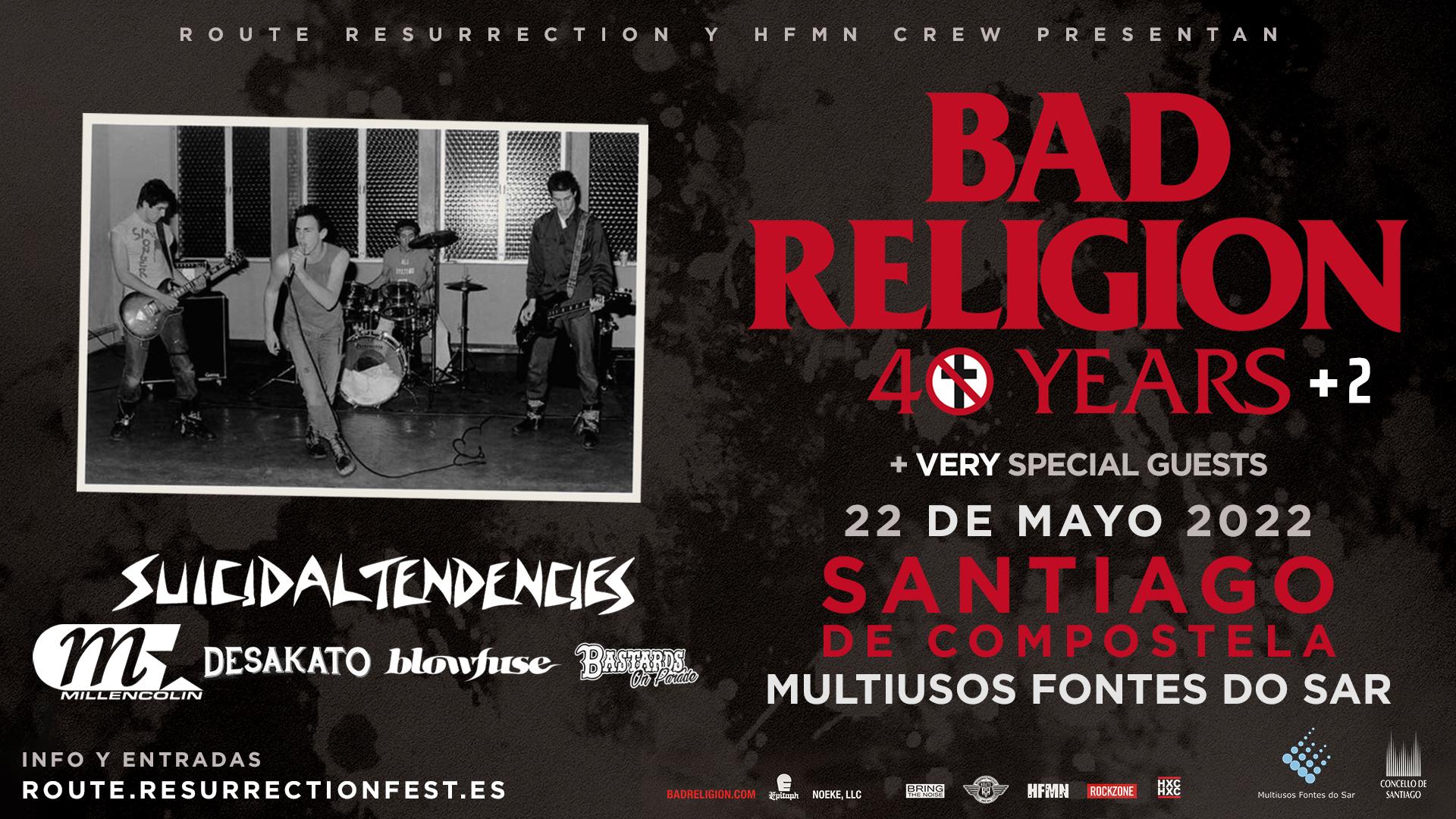 Route Resurrection Fest 2021 - Bad Religion - Event