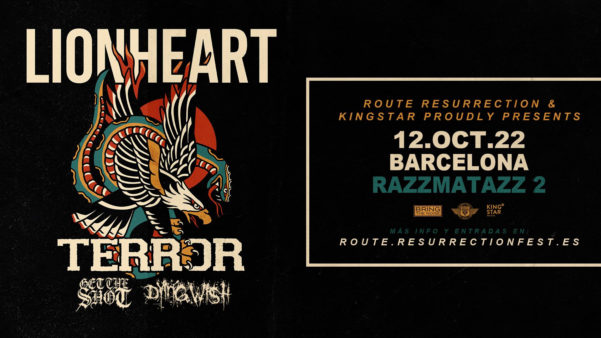 Route Resurrection Fest 2022 - Lionheart y Terror - Event