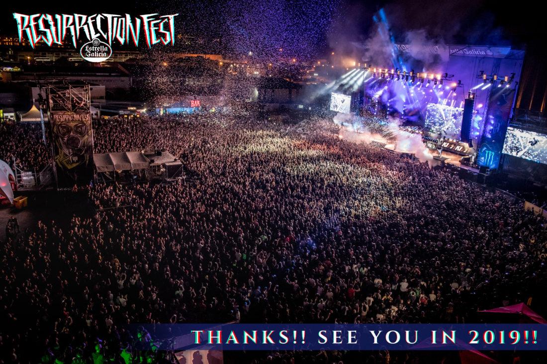 ¡El Resurrection Fest Estrella Galicia 2018 ha finalizado!