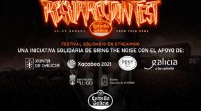 #elresuEGresiste: Resurrection Fest Estrella Galicia Online, a charity festival on streaming