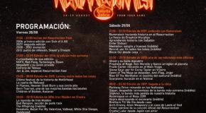 #elResuEGresiste: PROGRAMACIÓN DEL RESURRECTION FEST ESTRELLA GALICIA ONLINE Y HORARIOS