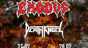 Nueva gira Route Resurrection: Testament regresa a España junto a Exodus y Death Angel