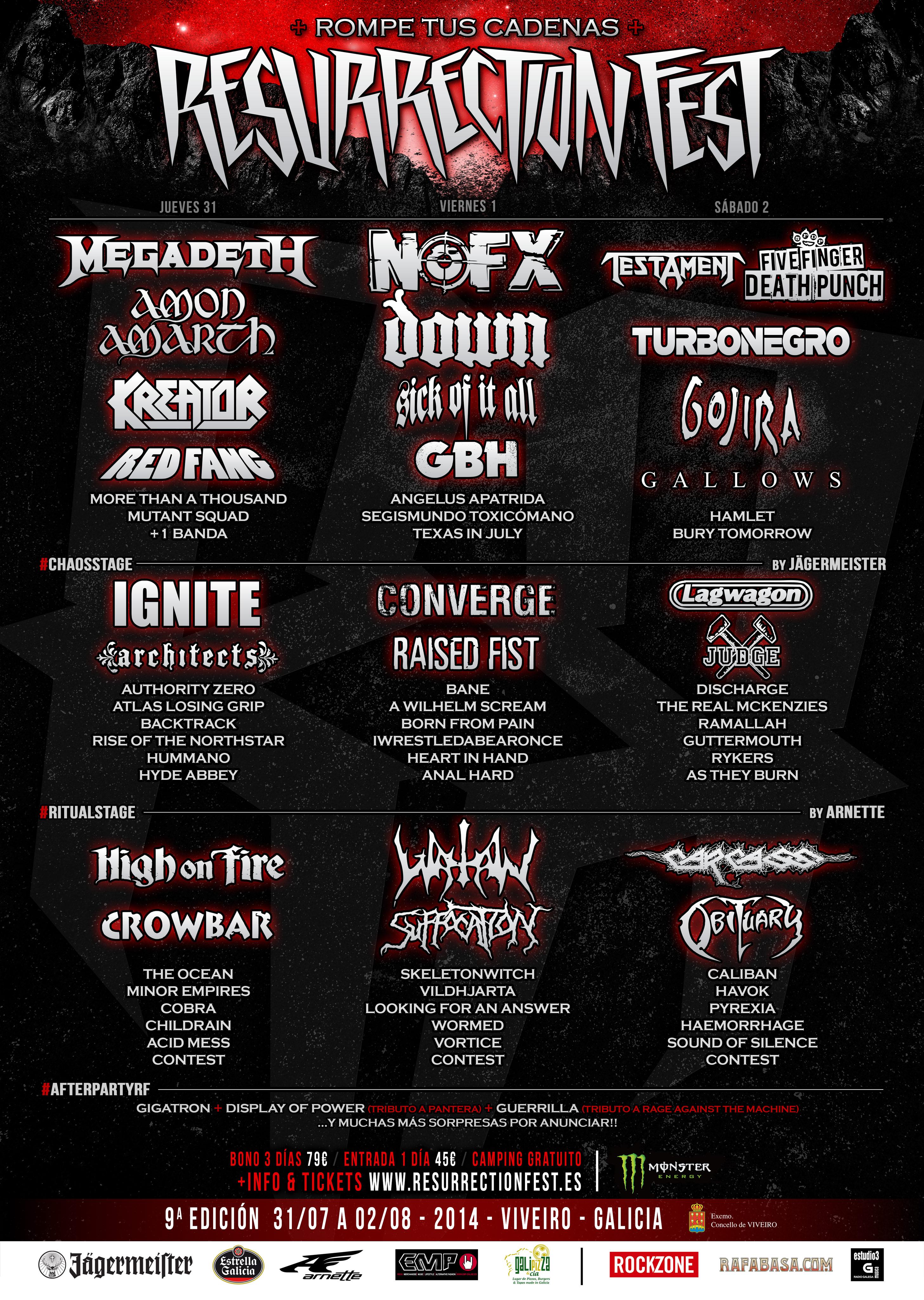 Ruidicos en directo, festivales para masas borregas Resurrection-Fest-2014-Cartel-5-ESP