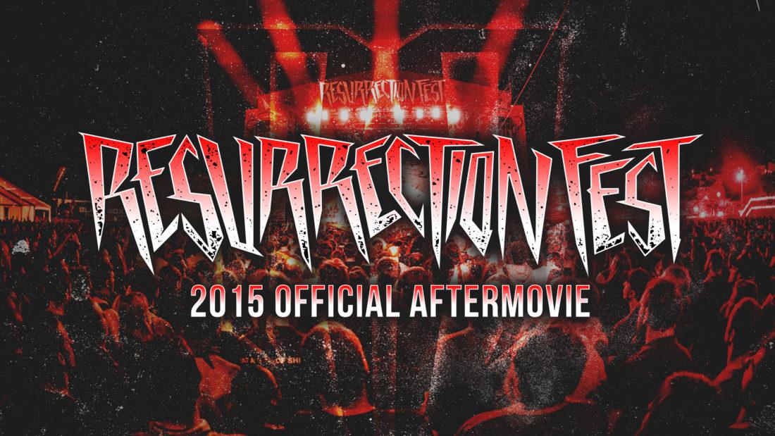 Aftermovie oficial del Resurrection Fest 2015 y fechas para 2016